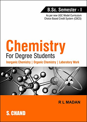 Chemistry for Degree Students: Madan R L