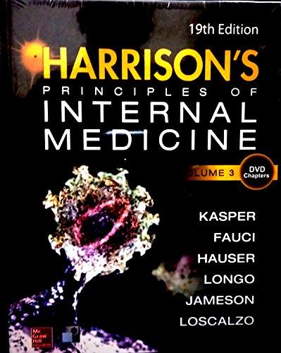 9789352601721: Harrison's Principle of internal Medicine: 3rd Volume