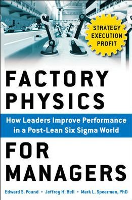 9789352601820: Factory Physics For Managers : How Leaders Improve Performance In A Post-Lean Six Sigma World