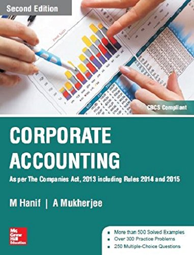 Corporate Accounting Second Edition By A Mukherjeem Hanif Mcgraw