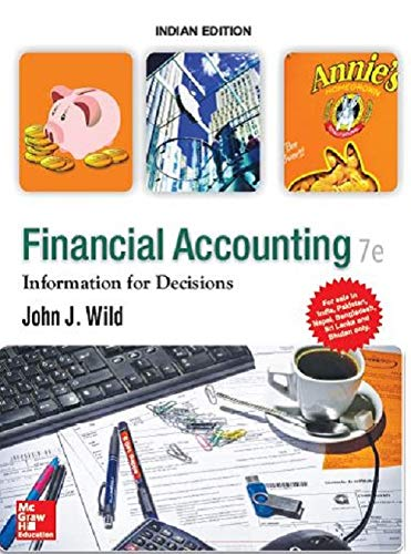 9789352606320: Financial Accounting : Information For Decisions