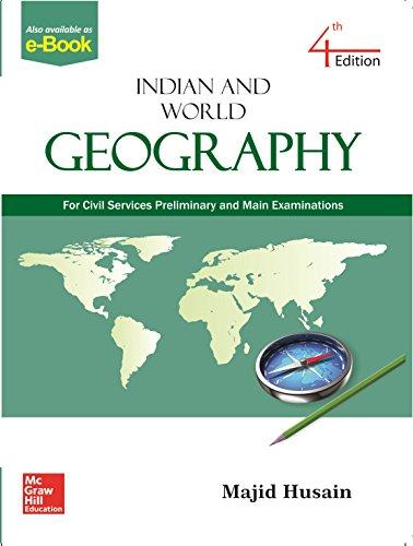 Indian and World Geography: Husain, Majid