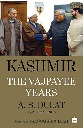 9789352640812: Kashmir : The Vajpayee Years