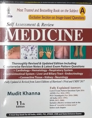 9789352701377: SELF ASSESSMENT AND REVIEW OF MEDICINE (PART