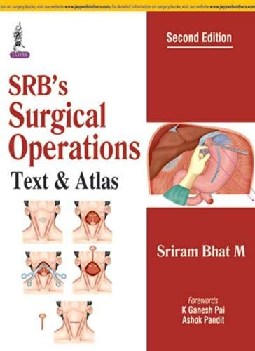 9789352702114: Srb's Surgical Operations: Text & Atlas