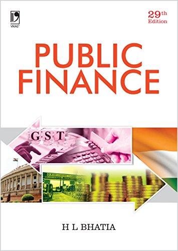 Public Finance: Dr H L