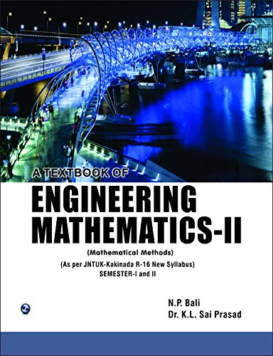 A Textbook of Engineering Mathematics Sem-II (JNTUK): Dr K. L.