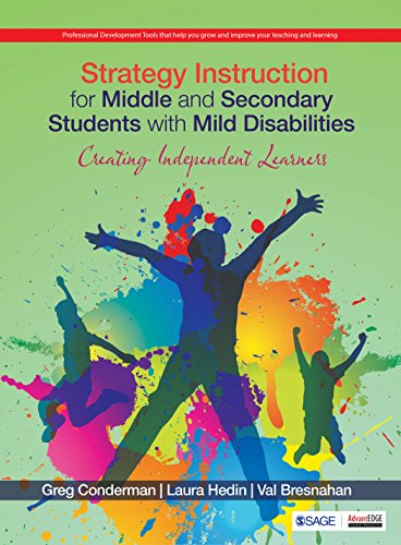 9789352806089 Strategy Instruction For Middle And Secondary
