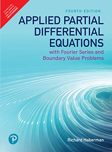 9789353432263: Applied Partial Differential Equations with Fourier Series and Boundary Value Problems