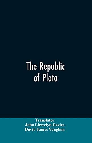 The Republic of Plato (Paperback): John Llewelyn Translator