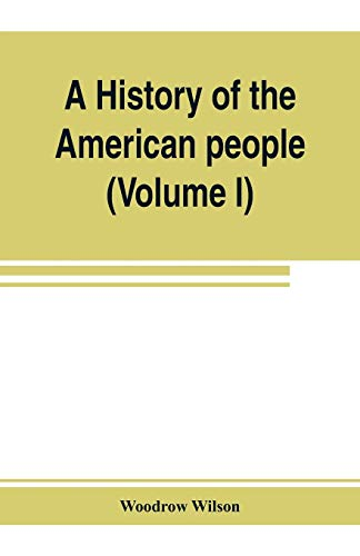 9789353803674: A history of the American people (Volume I)