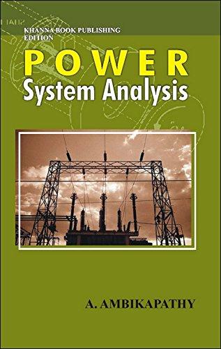Power System Analysis (English): A. Ambikapathy