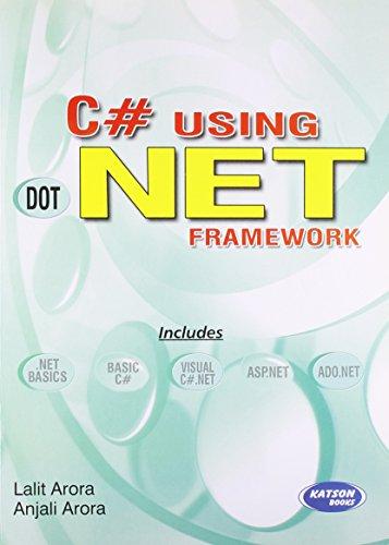 C# Using .Net Framework: Lalit Arora