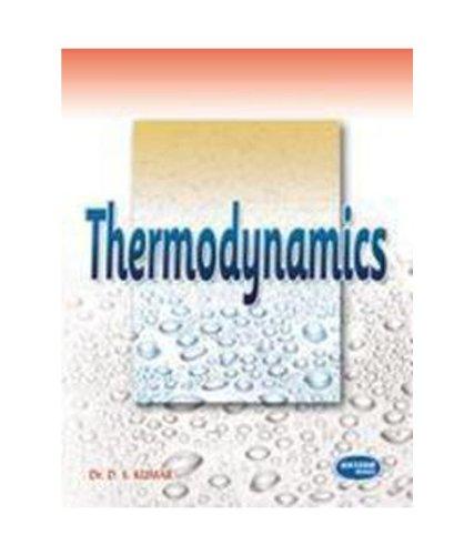 Thermodynamics: D.S.Kumar