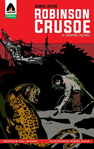 9789380028200: Robinson Crusoe: The Graphic Novel (Campfire Graphic Novels)