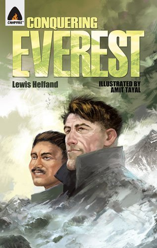 9789380028361: Conquering Everest: The Story of Hillary and Norgay (Heroes)