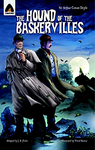 9789380028446: The Hound of the Baskervilles: The Graphic Novel (Campfire Graphic Novels)