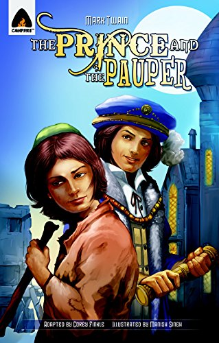 9789380028453: The Prince and the Pauper: The Graphic Novel (Campfire Graphic Novels)