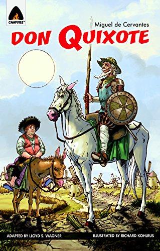 9789380028552: Don Quixote: Part 1: The Graphic Novel (Campfire Graphic Novels)