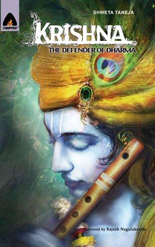 9789380028934: Krishna: The Defender of Dharma (Mythology)