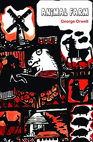 an interpretation of animal farm by george orwell George orwell's animal farm combines animal fable with political satire targeting stalinist russia john sutherland describes the novel's genesis, its struggle to.