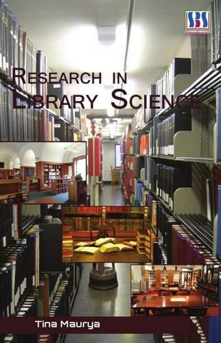 Research in Library Science (Hardback): TINA MAURYA