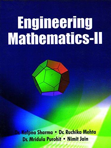 Engineering Mathematics-II (Kota): N. Jain M.
