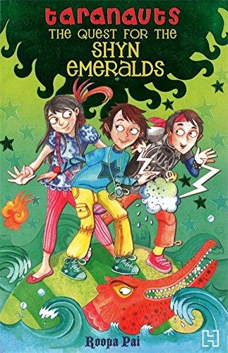 9789380143514: Quest for the Shyn Emeralds (Taranauts)