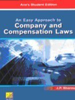 An Easy Approach to Company and Compensation: Sharma, Dr. J.