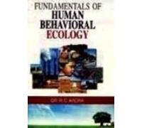 9789380164328: Fundamentals of Human Behavioral Ecology