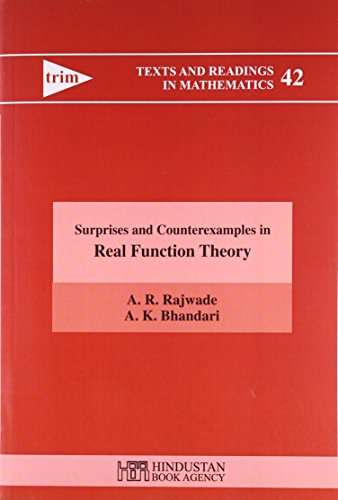 Surprises and Counterexamples in Real Function Theory: A. R. Rajwade