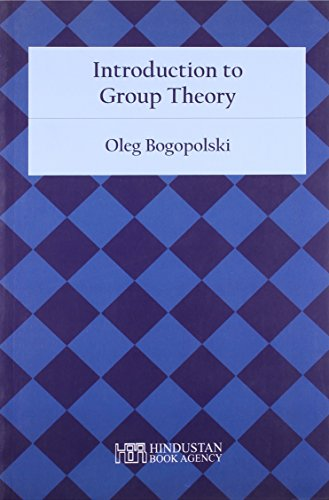 9789380250311: Introduction to Group Theory