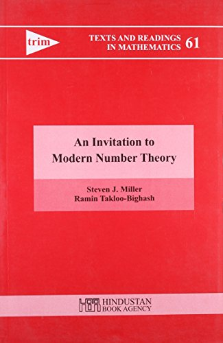 9789380250373: Invitation to Modern Number Theory (Texts and Readings in Mathematics, Volume 61)