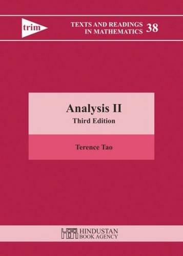 9789380250656: Analysis II