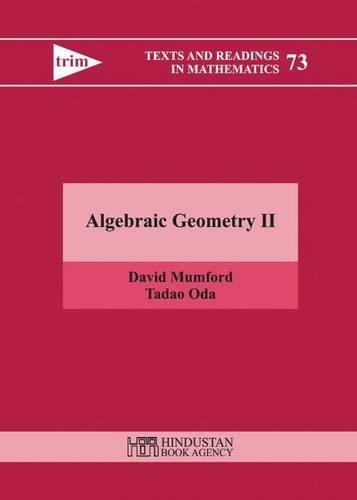 9789380250809: Algebraic Geometry II