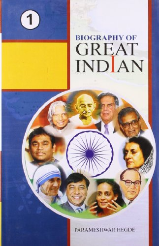 9789380318257: Biography of Great Indian (2 Volumes)