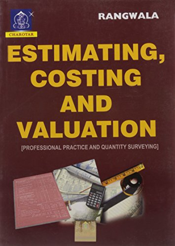 9789380358970: Estimating, Costing And Valuation