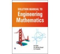 9789380386133: Solution Manual to Engineering Mathematics