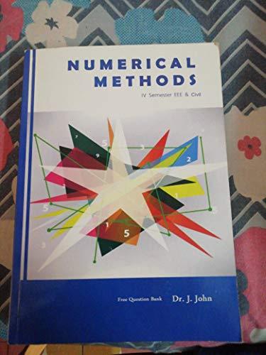 Numerical Methods: J.B. Dixit