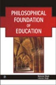 9789380386997: Philosophical Foundation of Education