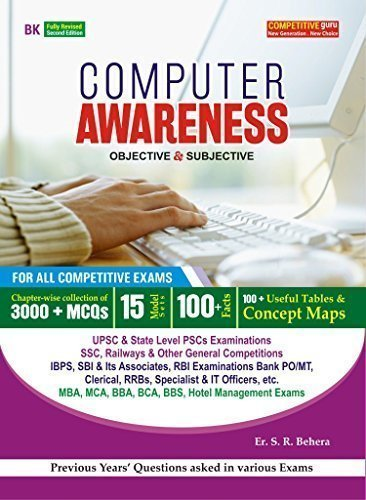 9789380422602: Computer Awareness for General Competitive Exams (Objective with Subjective)