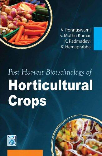 Post Harvest Biotechnology of Horticultural Crops: V. Ponnuswami, S.