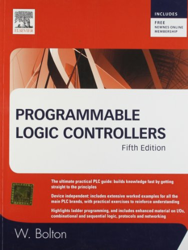 9789380501468: Programmable Logic Controllers, 5e