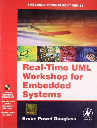 9789380501970: Real-Time UML Workshop for Embedded System (With CD)