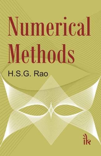 Numerical Methods: H.S.G. Rao