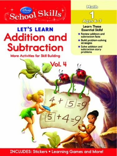 9789380594514: School Skills - Lets Learn Addition and Subtraction Vol 4