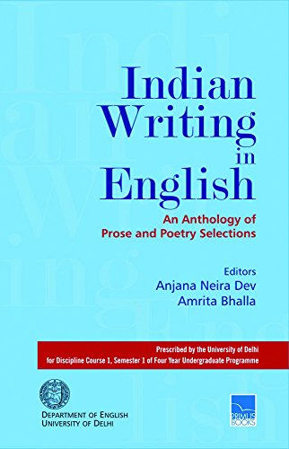 Indian Writing In English: An Anthology Of: Anjana Neira Dev