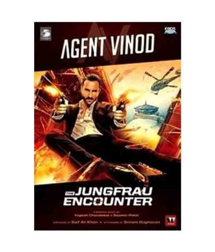 Agent Vinod: The Jungfrau Encounter (Graphic Novel based on the Movie)