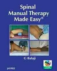 Spinal Manual Therapy Made Easy With Int.Dvd-Rom,: Balaji