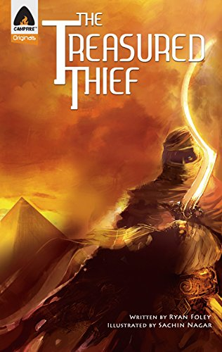 9789380741116: The Treasured Thief: A Graphic Novel (Campfire Graphic Novels)